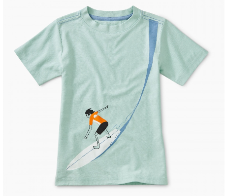 Go Big Graphic Tee, Ocean