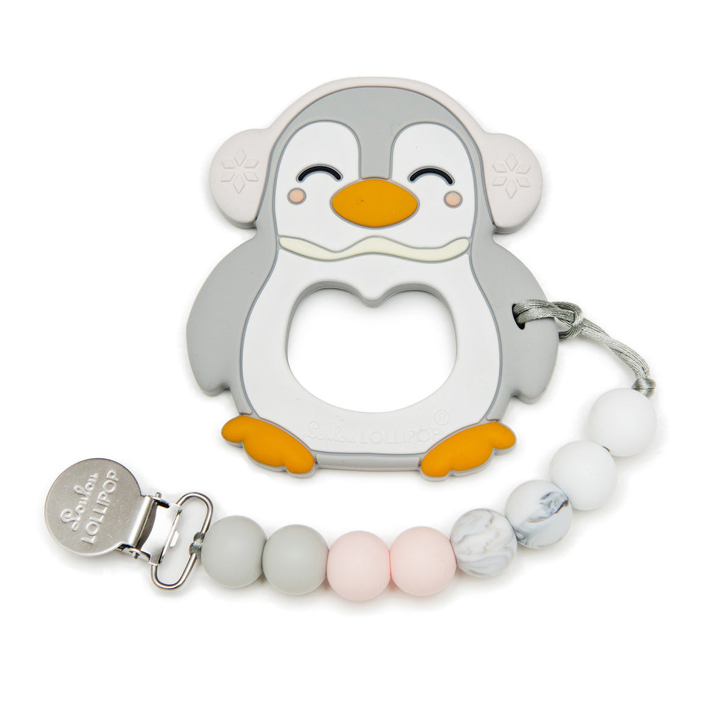 Penguin Silicone Teether