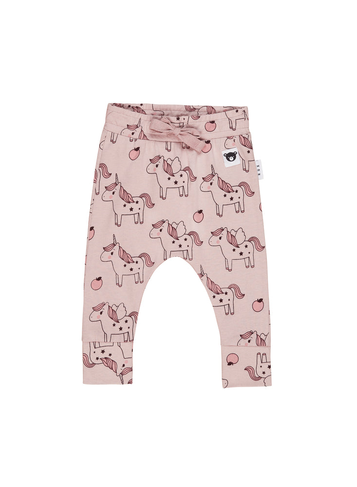Unicorn Drop Crotch Pant, Blush