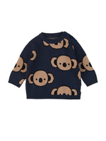 Koala Knit Jumper, Navy