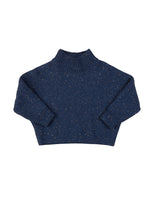 Sprinkles Knit Sweater, Navy