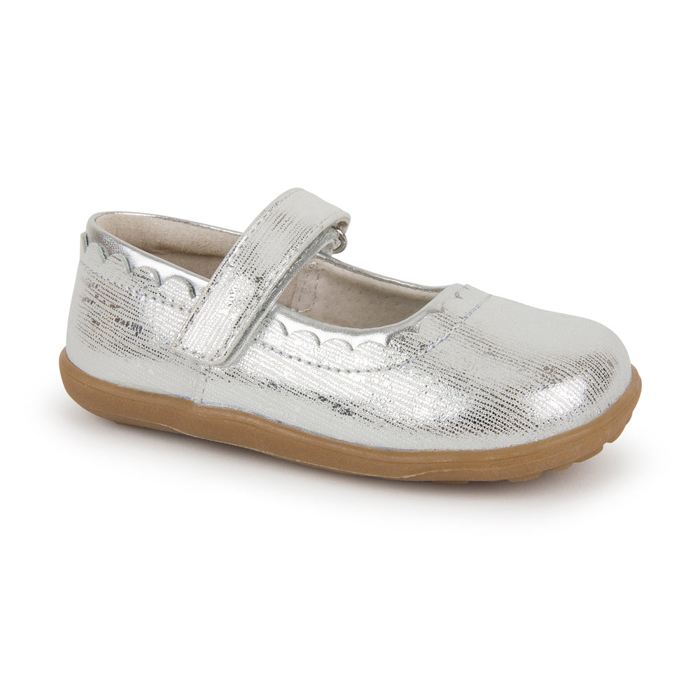 Jane II Mary Janes, Silver