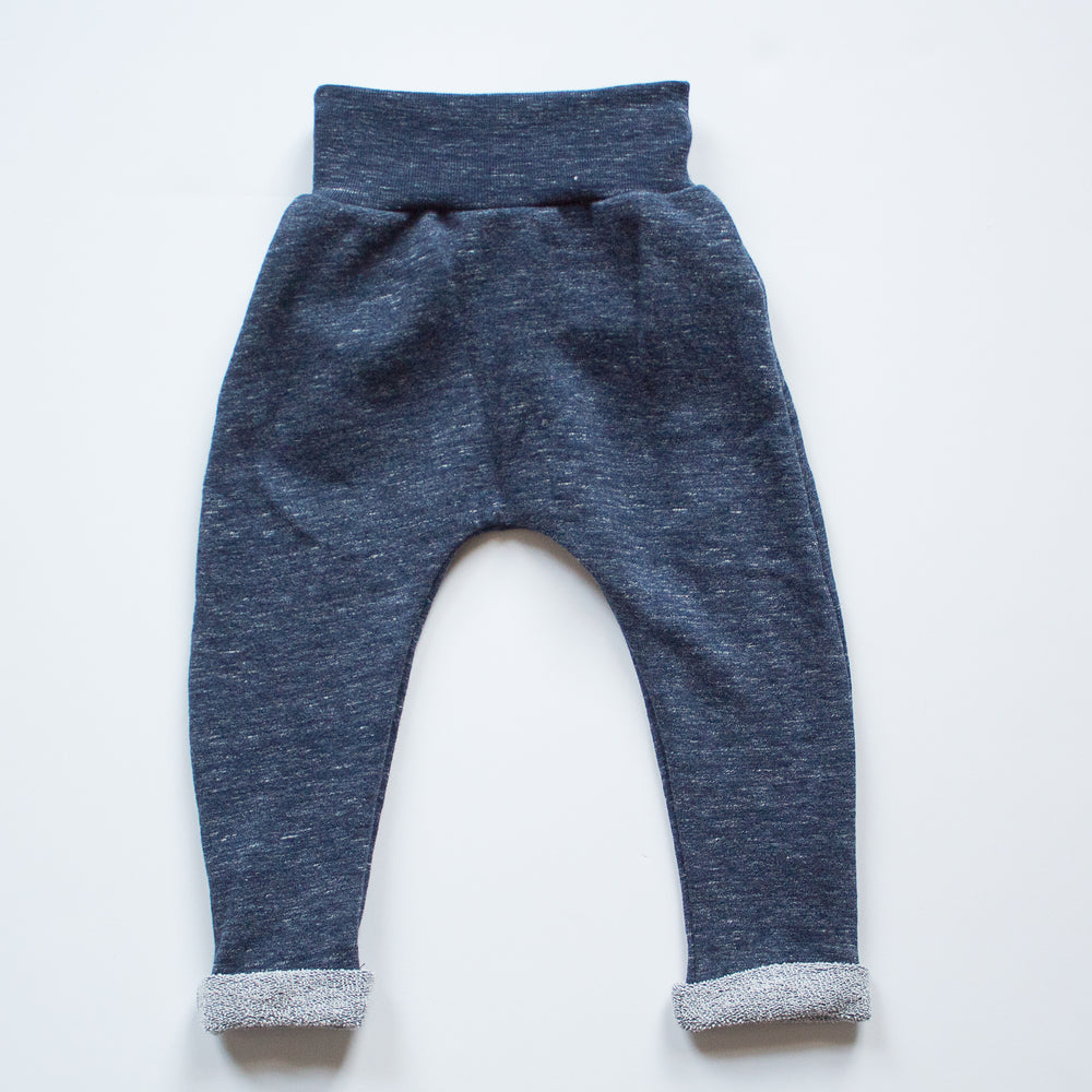 Jogger Pant in Heather Navy