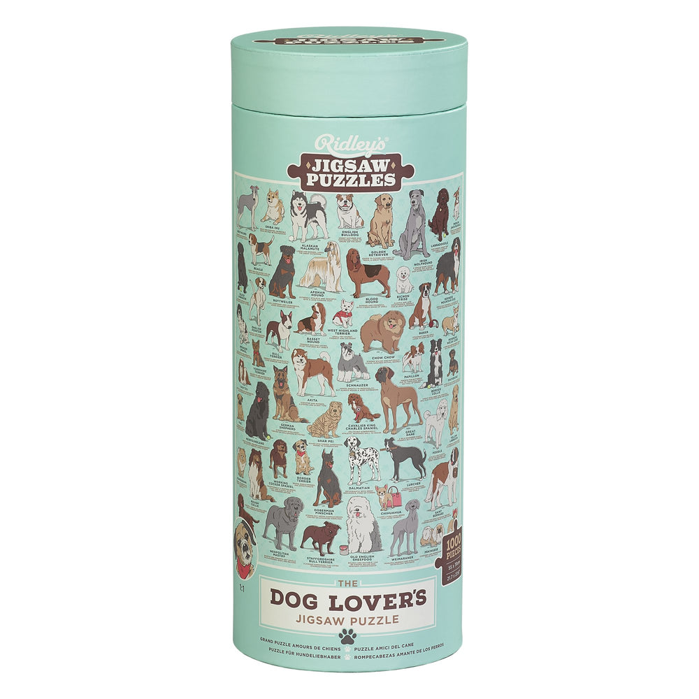 Dog Lovers Jigsaw Puzzle, 1000 Pieces