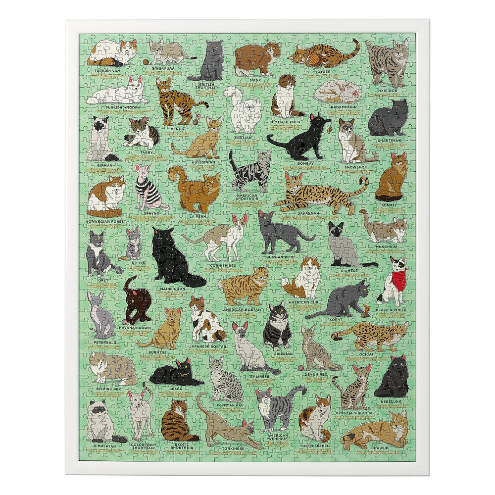 Cat Lovers Jigsaw Puzzle, 1000 Pieces