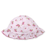 Strawberry Soiree Floppy Hat