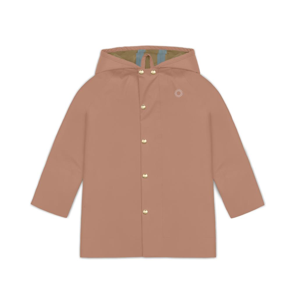 Midi Rain Jacket, Beach Rose