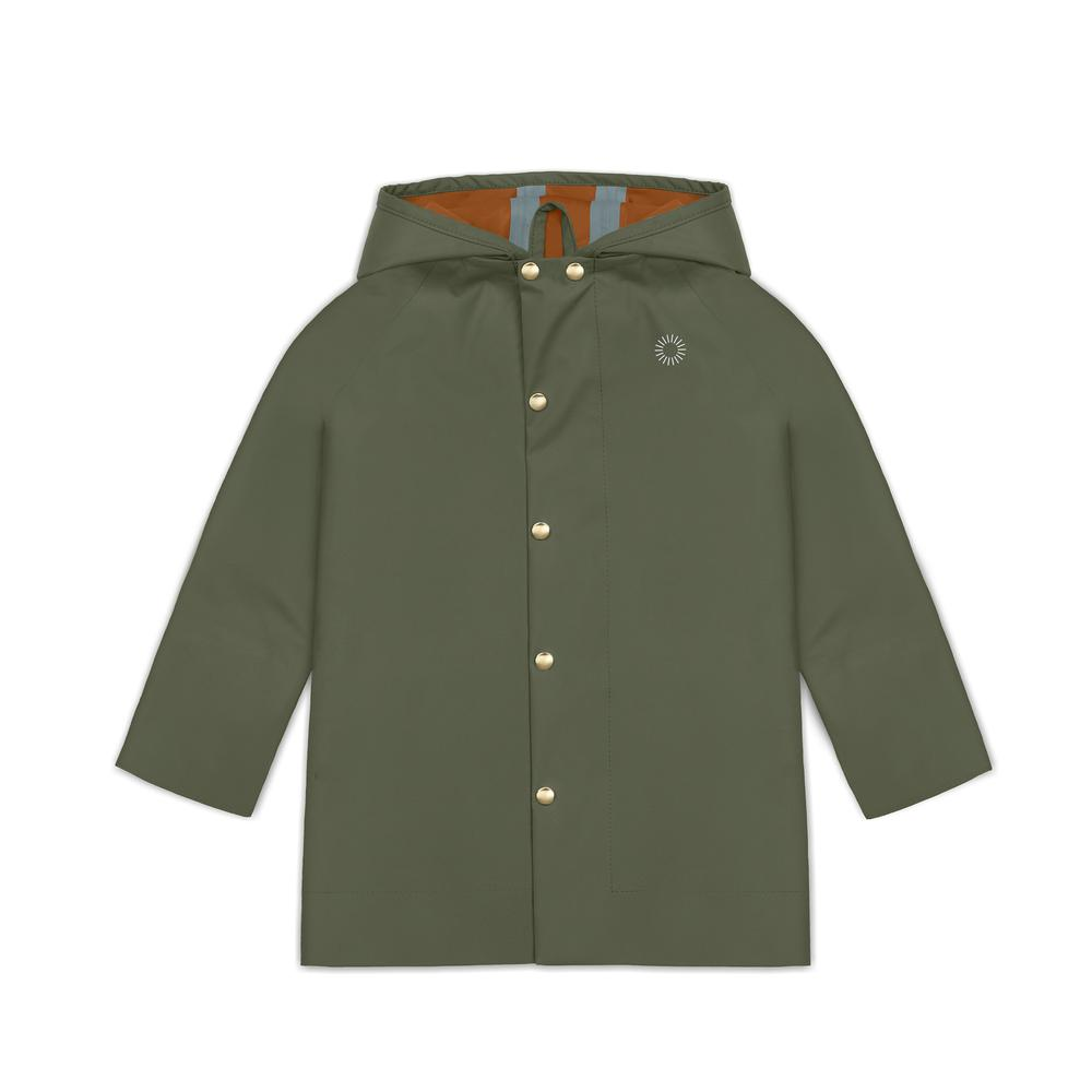 Midi Rain Jacket, Spruce Faire Child