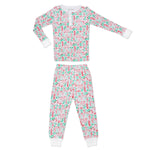 Joy Street Kids North Pole Henley Pajamas