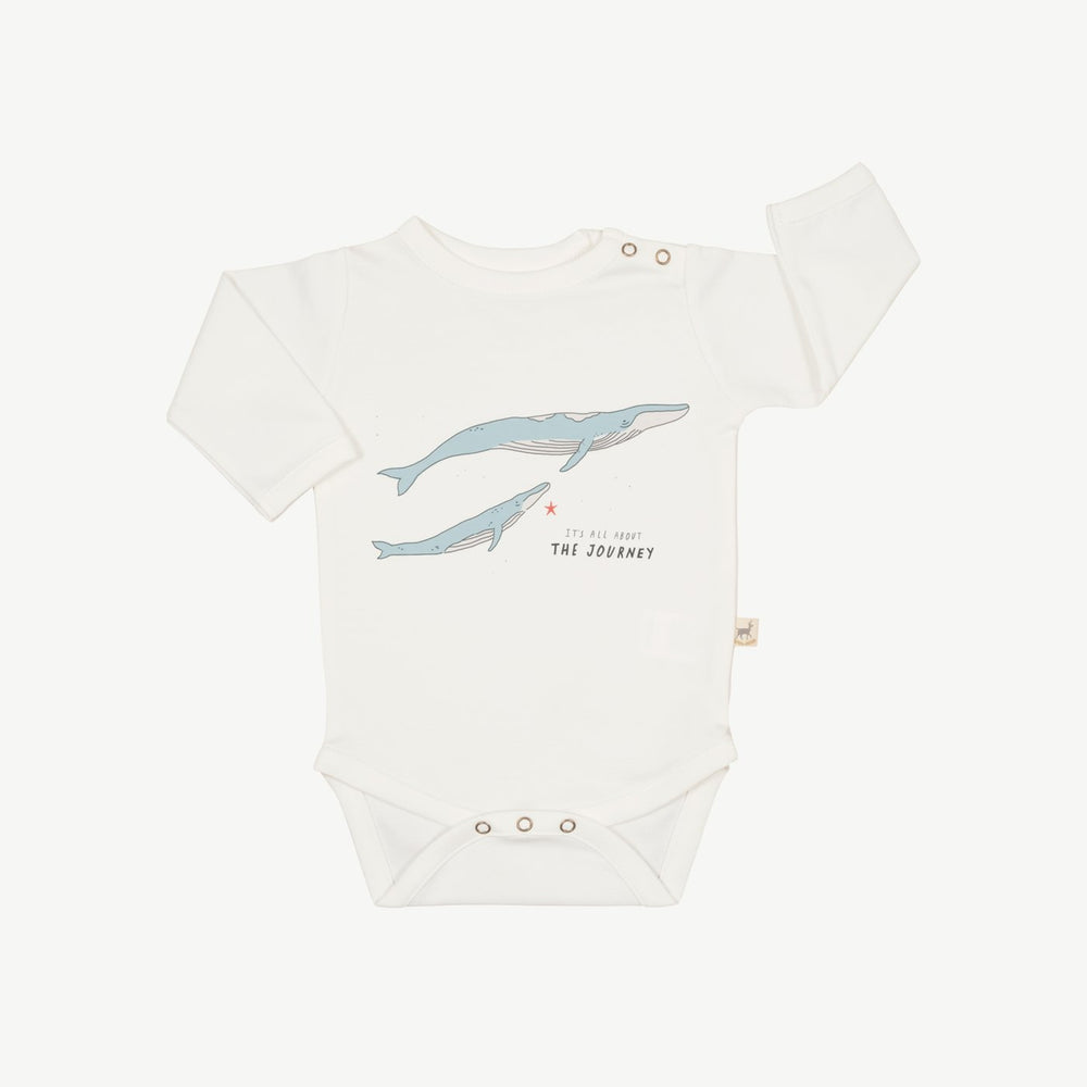 The Journey Onesie, Eco White