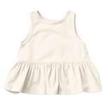 Organic Joy Top, Antique White