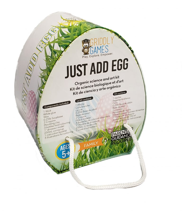 Just Add Egg Steam Science & Art Kit
