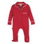 Pajama Footie 2.0, Red