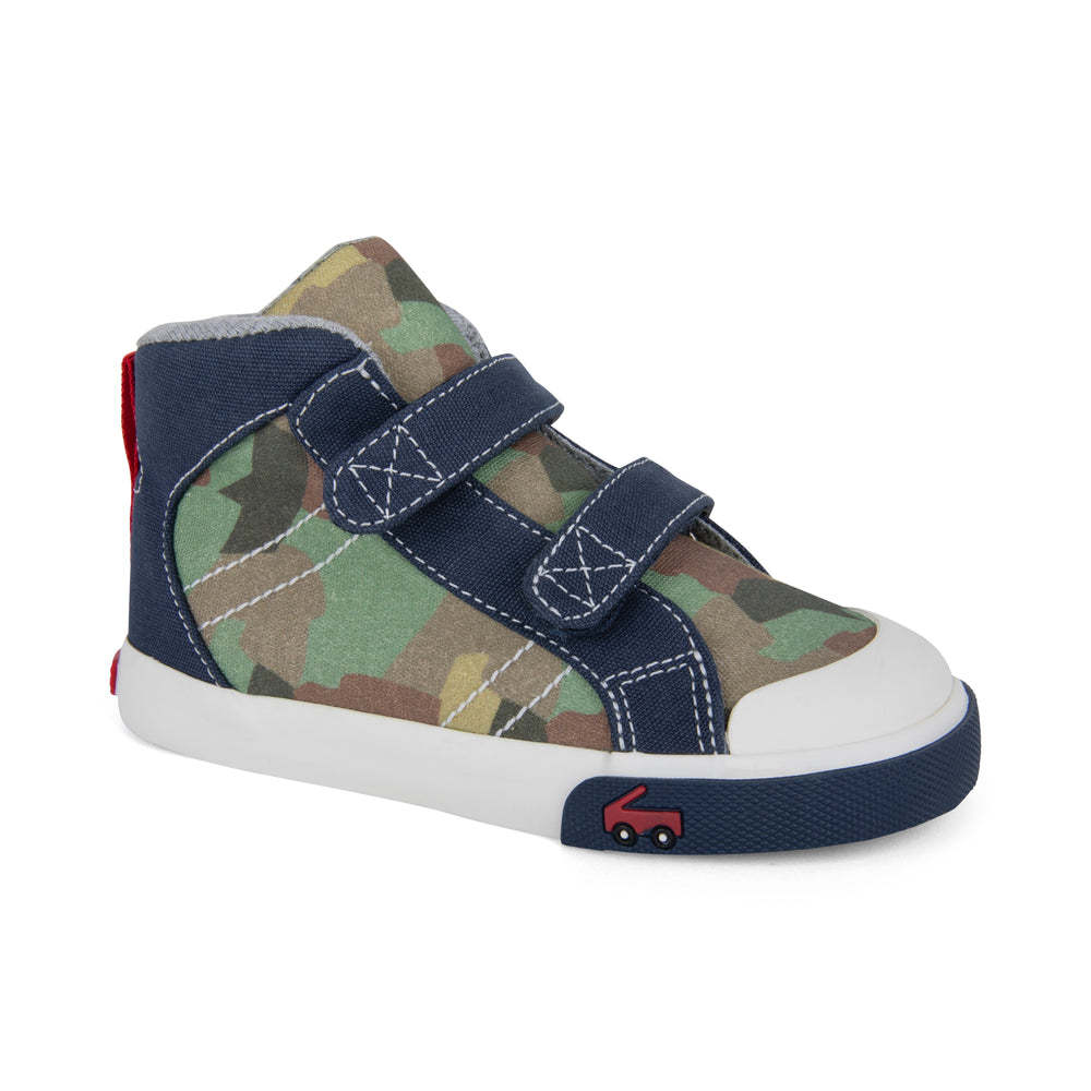 Matty Camo Hightop Sneaker