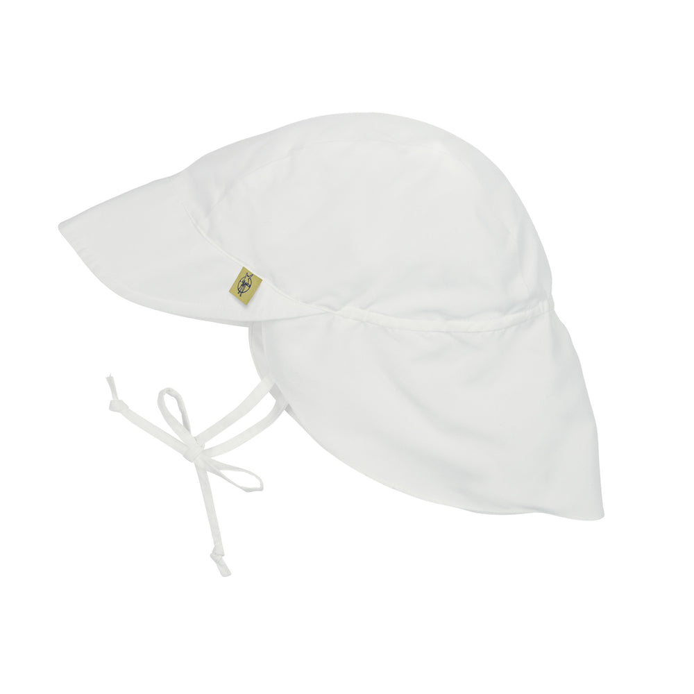 Sun Protection Flap Hat, White Lassig