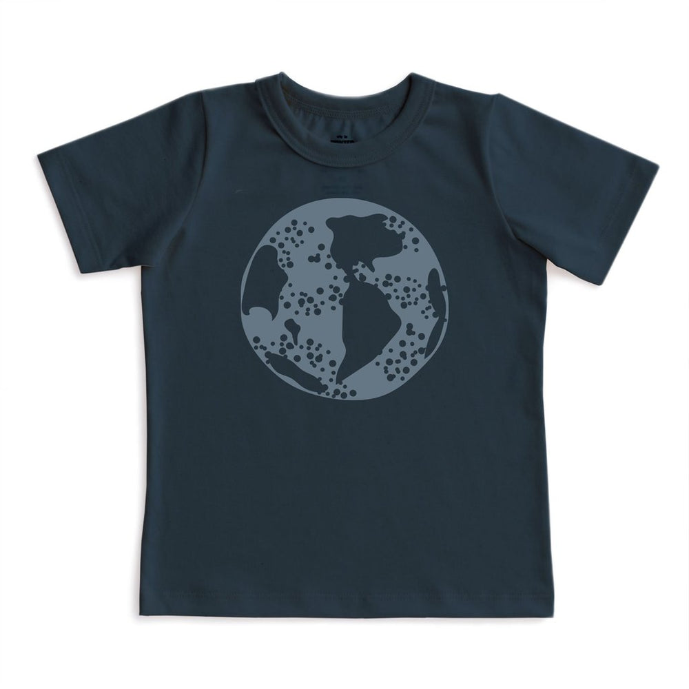 Short Sleeve Tee, Earth on Night Sky