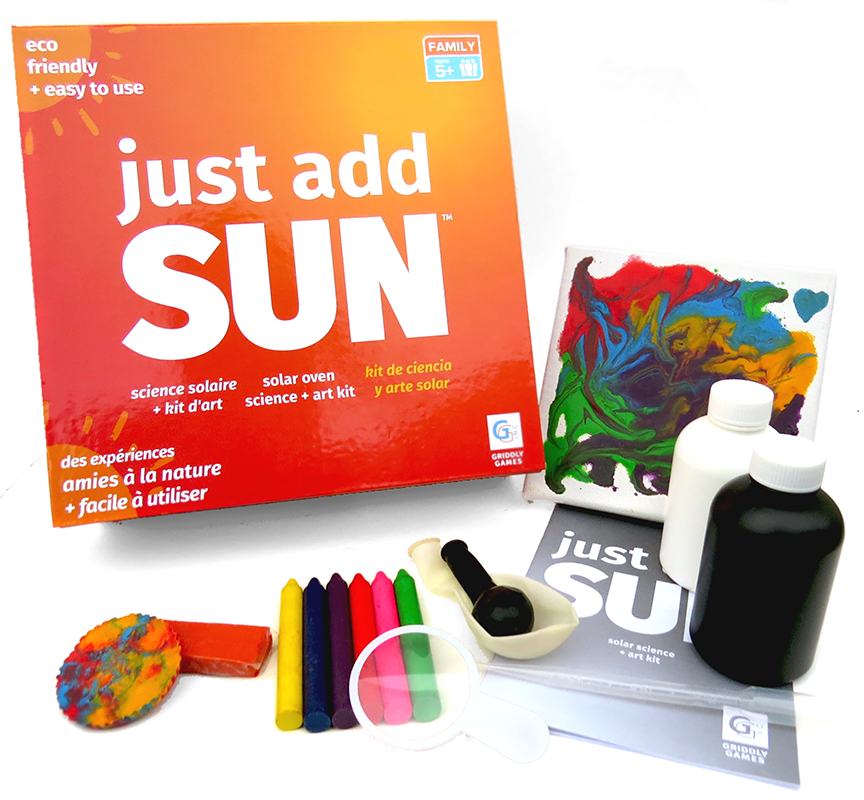 Just Add Sun Steam Science & Art Kit Griddly Games