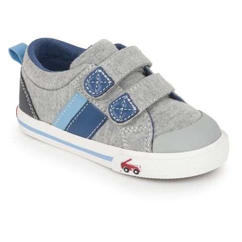 Russell Toddler Sneaker, Gray Jersey