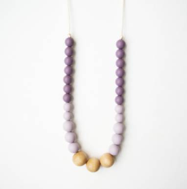 Naturalist Wood + Silicone Teething Necklace