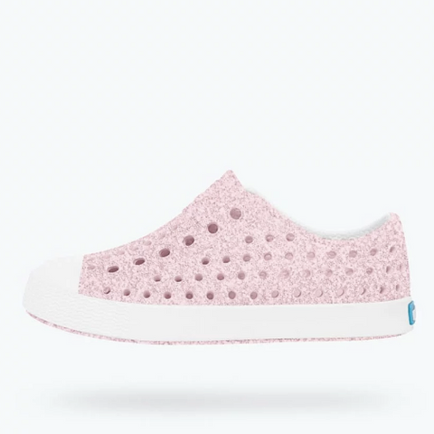 Jefferson Bling Slip-On, Milk Pink