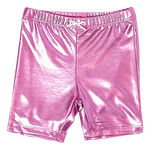 Bike Short, Pink Lame