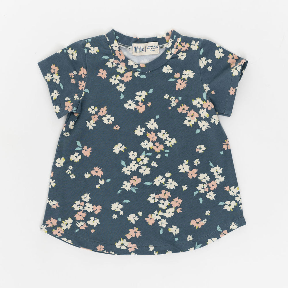 Thimble Collection Swing Tee in Blossom