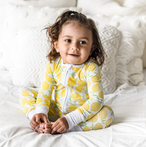 Lemons Bamboo Convertible Romper/Sleeper