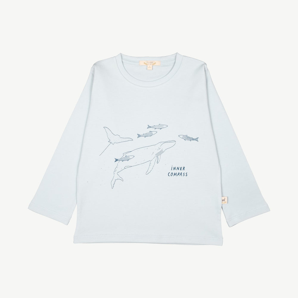 Inner Compass T-Shirt, Winter Sky
