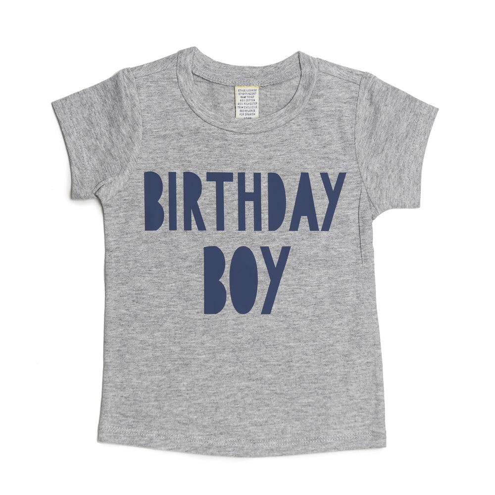 Birthday Boy Short Sleeve Tee