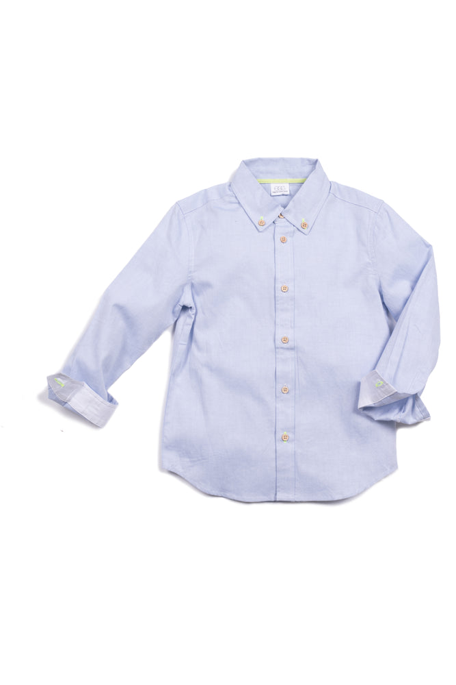 Luke Shirt, Oxford Egg New York