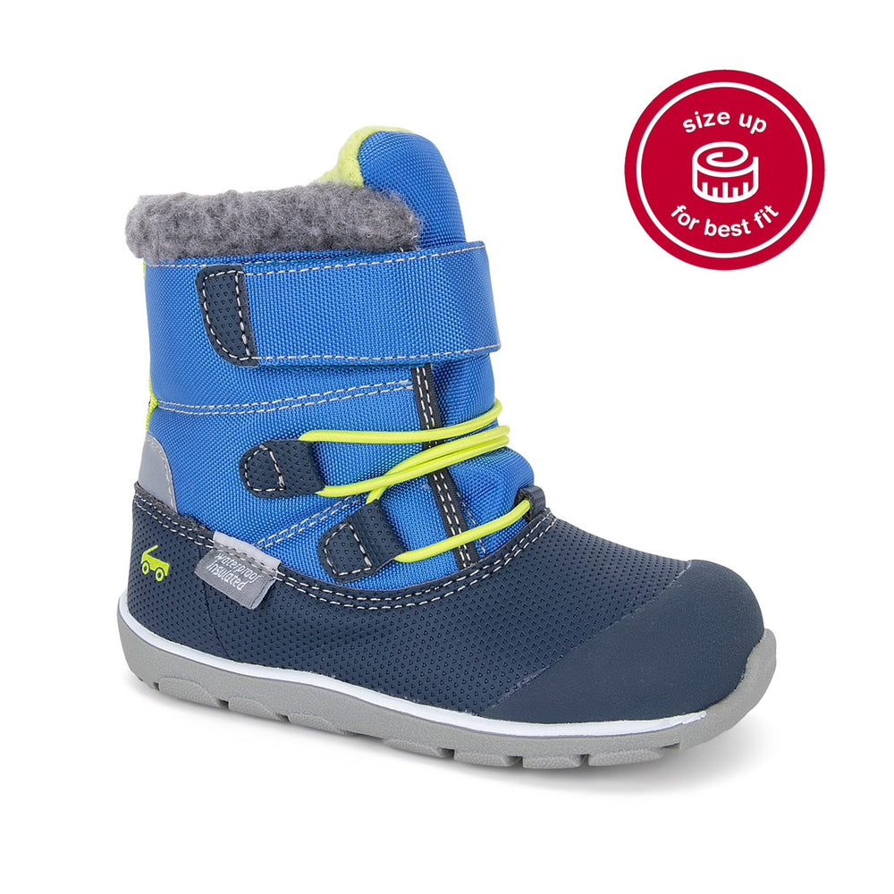 Gilman Waterproof/Insulated Boot, Navy Blue