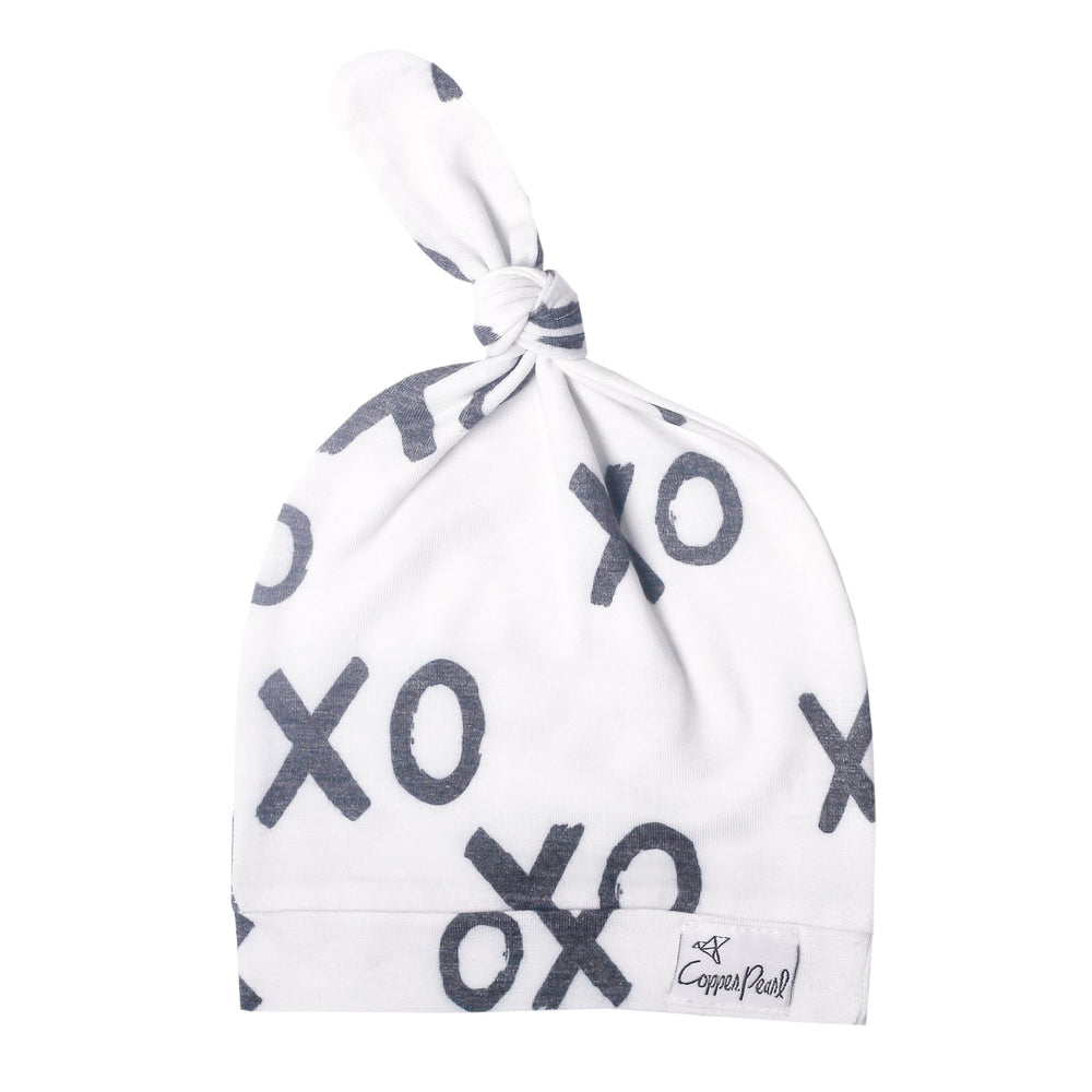 XOXO Top Knot Hat