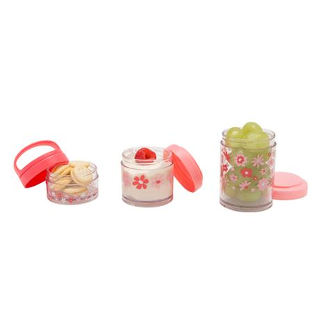 Pink Flowers Twist & Snack™ Stacker