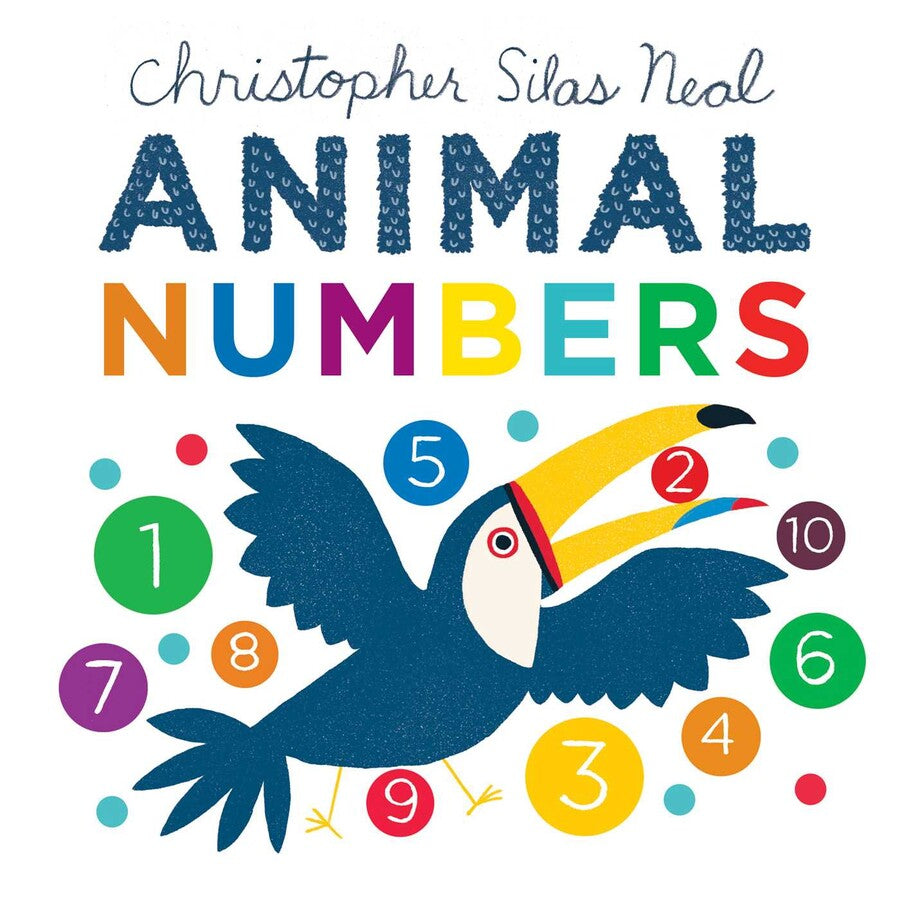 Simon & Schuster Animal Numbers by Christopher Silas Neal