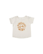 Sunshine On My Mind Basic Tee, Ivory