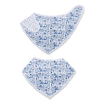 Boston Baby Bandana Bib, Sailor Blue