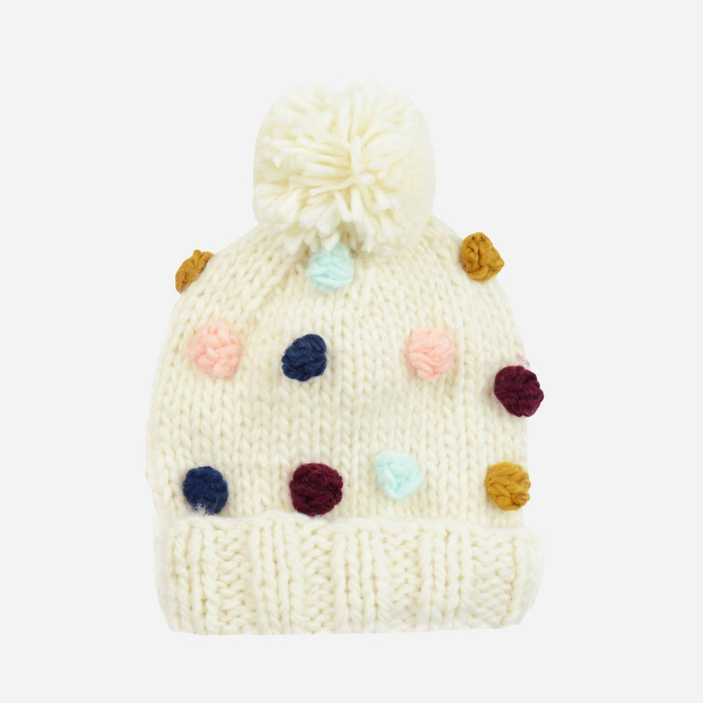 Percy Dot Acrylic Hand Knit Kids & Baby Hat