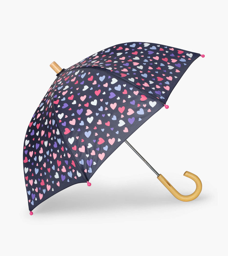 Confetti Hearts Umbrella