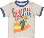 Grateful Dead Short Sleeve Ringer Tee Rowdy Sprout