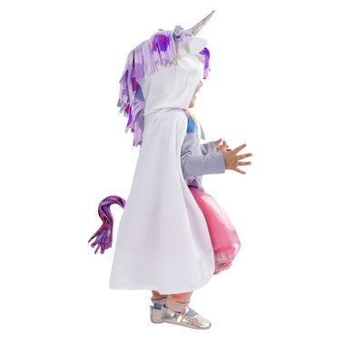 White Unicorn Cape, 12-24M