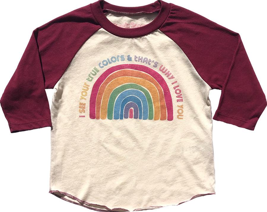 True Colors Raglan Tee