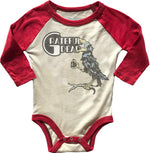 Grateful Dead Raglan Onesie