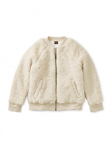 Sherpa Fleece Bomber Jacket