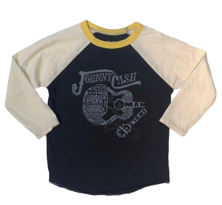 Johnny Cash Raglan Tee