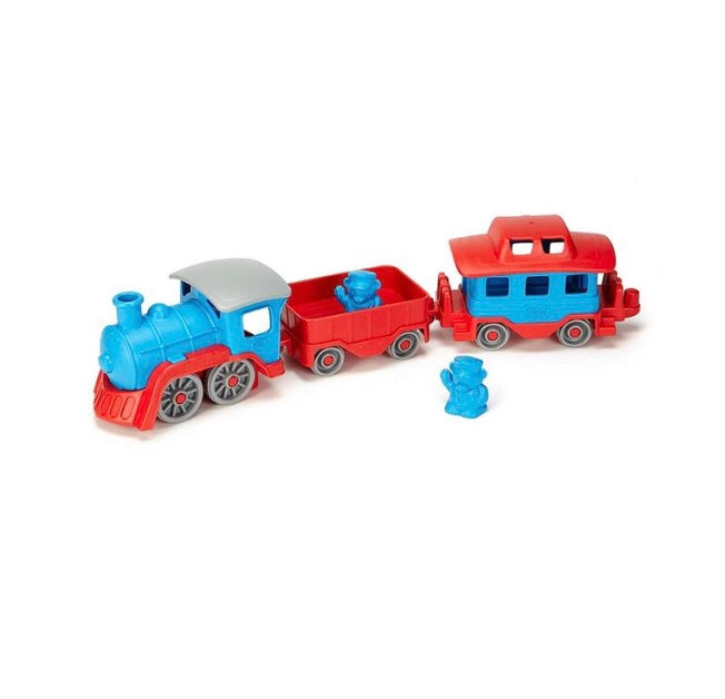 Red & Blue Train Green Toys