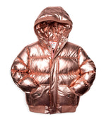 Puffy Coat, Rose Gold