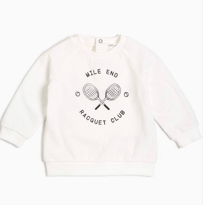 "Off-White ""Mile End"" Racquet Club Sweatshirt"