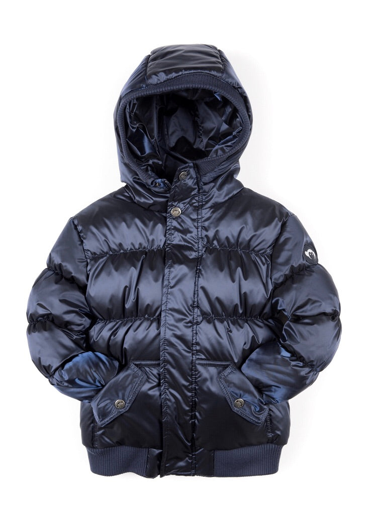 Puffy Coat, Navy