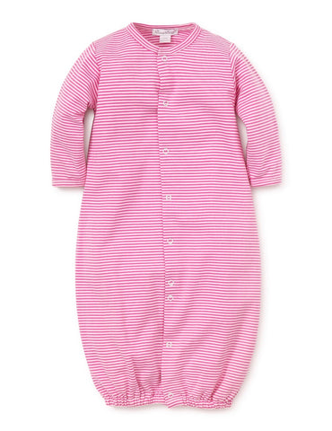 Kissy Essentials Stripe Conversion Gown, Fuschia