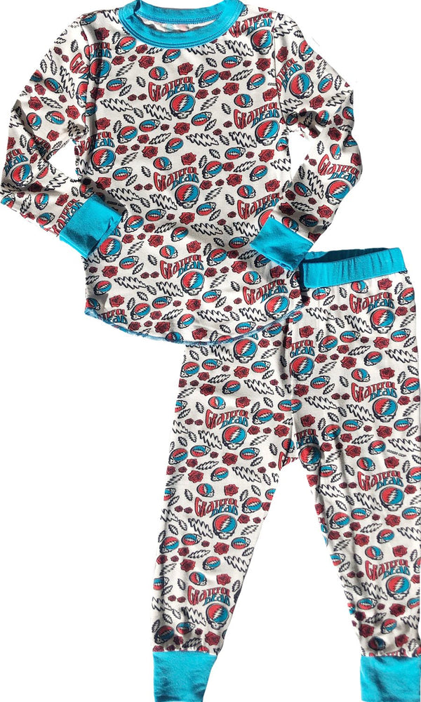 Grateful Dead Long Sleeve Pajama Set
